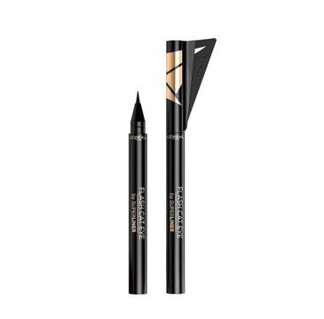 L'Oreal Paris Flash Cat Eye Superliner eyeliner w pisaku 01 Black