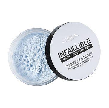 L'Oreal Paris Infaillible Magic Loose Powder transparentny puder do twarzy 40g