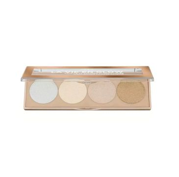 L'Oreal Paris La Vie en Glow Highlighting Powder Palette paleta cieni do powiek 02 Sunrise 5g