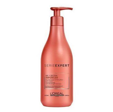 L'Oreal Professionnel Serie Expert Inforcer Strengthening Anti-Breakage Shampoo wzmacniający szampon do włosów słabych i łamliwych 500ml