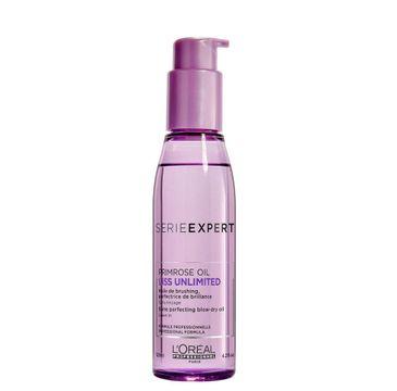 L'Oreal Professionnel Serie Expert Liss Unlimited Primrose Oil olejek intensywnie wygładzający włosy 125ml