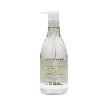 L'Oreal Professionnel Serie Expert Pure Resource Citramine Shampoo szampon oczyszczający do włosów przetłuszczających się 500ml