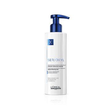 L'Oreal Professionnel Serioxyl Clarifying & Densifying Shampoo oczyszczająco-zagęszczający szampon do włosów przerzedzonych 250ml