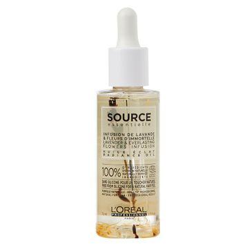L'Oreal Professionnel Source Essentielle Radiance Oil naturalny olejek do włosów koloryzowanych Ekstrakt z Miąższu Figi 450ml