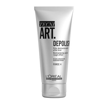 L'Oreal Professionnel Tecni Art Depolish Destructuring Paste matująca pasta strukturyzująca do włosów Force 4 100ml
