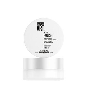 L'Oreal Professionnel Tecni Art Fix Polish Compact Wax-In-Gel żel w wosku z karmelem 75ml