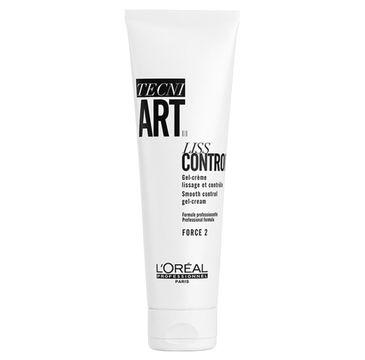 L'Oreal Professionnel Tecni Art Liss Control Smooth Control Gel-Cream żel-krem wygładzająco-dyscyplinujący Force 2 150ml
