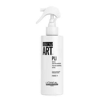 L'Oreal Professionnel Tecni Art Pli Thermo-Modelling Spray termo-modelujący spray do włosów Force 4 190ml