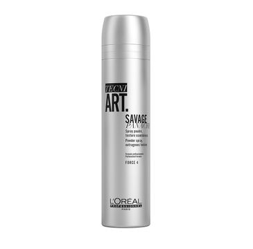 L'Oreal Professionnel Tecni Art Savage Panache Powder Spray puder w sprayu nadający objętość włosom Force 4 250ml