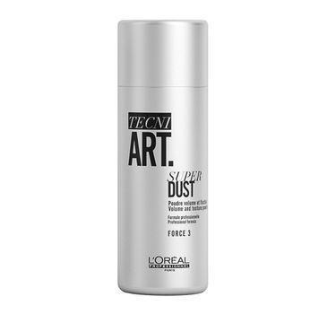 L'Oreal Professionnel Tecni Art Super Dust Volume And Texture Powder puder dodający objętości włosom Force 3 7g