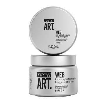 L'Oreal Professionnel Tecni Art Web Design Sculpting Paste włóknista pasta rzeźbiąca Force 5 150ml