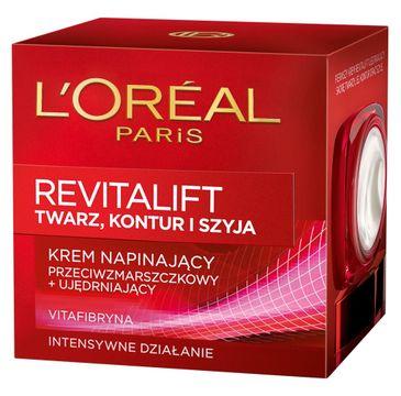 L'Oreal Revitalift krem do twarzy i szyi napinający przeciwzmarszczkowy i ujędrniający 50 ml