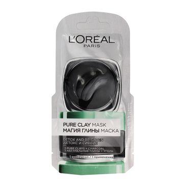 L'Oreal Skin Expert maska czysta glinka detoksykująco-rozświetlająca 6 ml