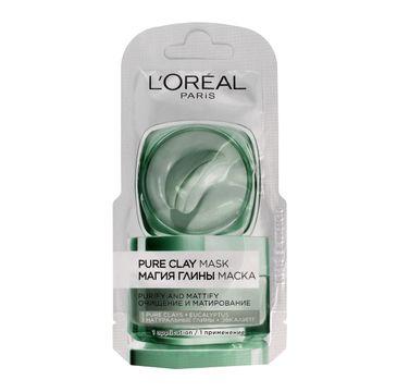 L'Oreal Skin Expert maska czysta glinka oczyszczająco-matująca 6 ml