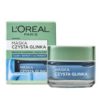 L'Oreal Skin Expert maska czysta glinka przeciw niedoskonałościom 50 ml