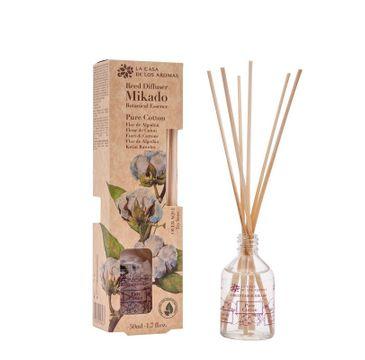 La Casa de los Aromas Mikado Botanical Essence olejek aromatyczny z patyczkami Bawełna (50 ml)