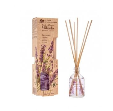 La Casa de los Aromas Mikado Botanical Essence olejek aromatyczny z patyczkami Lawenda (50 ml)