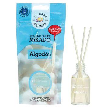 La Casa de los Aromas Olejek aromatyczny z patyczkami Bawełna 30ml