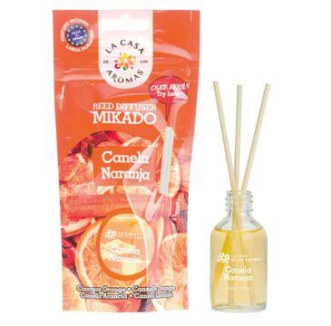 La Casa de los Aromas Olejek aromatyczny z patyczkami Cynamon Pomarańcza 30ml