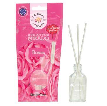 La Casa de los Aromas Olejek aromatyczny z patyczkami Róża 30ml