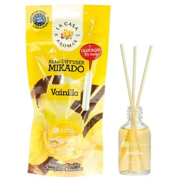 La Casa de los Aromas Olejek aromatyczny z patyczkami Wanilia 30ml