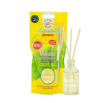 La Casa de los Aromas Patyczki zapachowe z esencją Citronella 30ml