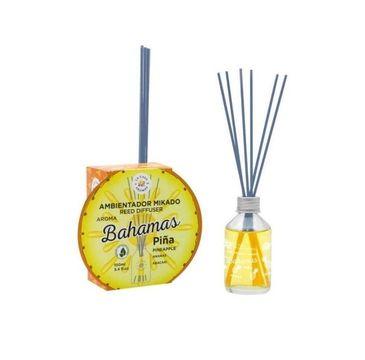 La Casa de los Aromas Reed Diffuser Bahamas olejek aromatyczny z patyczkami Ananas (100 ml)