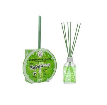 La Casa de los Aromas Reed Diffuser Refreshing olejek aromatyczny z patyczkami Limonka (100 ml)