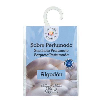 La Casa de los Aromas Sobre Perfumado saszetka zapachowa Bawełna 13g