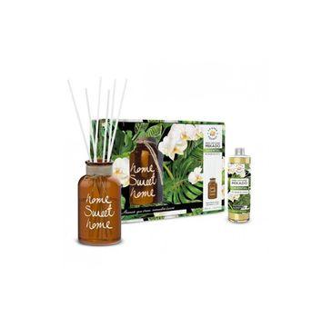 La Casa de los Aromas – Sweet Home zestaw patyczki zapachowe + wazon Zielona Herbata & Limonka (400 ml)