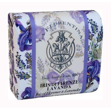La Florentina Bar Soap mydło do ciała Iris of Florence & Lavender (106 g)