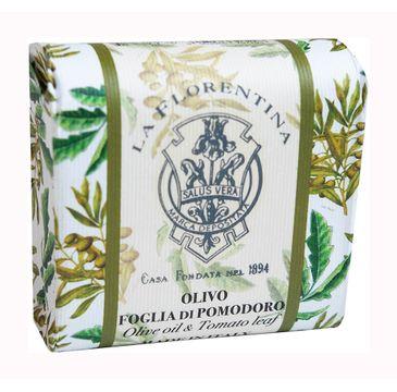 La Florentina Bar Soap mydło do ciała Olive Oil & Tomato Leaf (106 g)