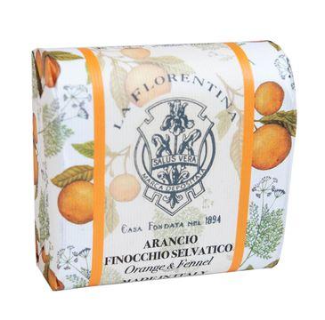 La Florentina Bar Soap mydło do ciała Orange & Fennel (106 g)