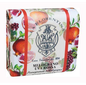 La Florentina Bar Soap mydło do ciała Pomegranate & Red Grapes (106 g)