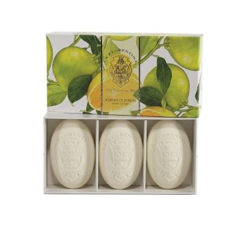 La Florentina Hand Soap zestaw mydeł do rąk Boboli Citrus 3x150g