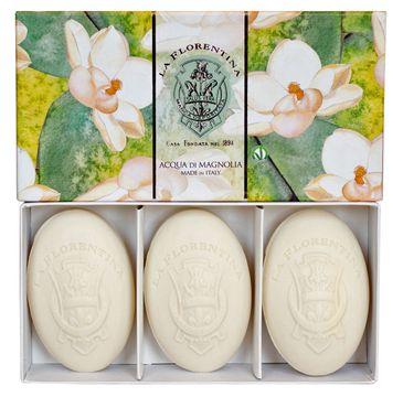 La Florentina Hand Soap zestaw mydeł do rąk Fresh Magnolia (3 x 150 g)