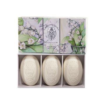 La Florentina Hand Soap zestaw mydeł do rąk Lily Of The Valley 3x150g