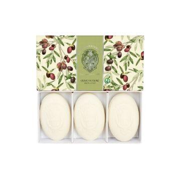 La Florentina Hand Soap zestaw mydeł do rąk Olive Flowers (3 x 150 g)