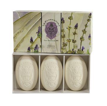 La Florentina Hand Soap zestaw prezentowy myła do rąk Lavender 3 x 150 g