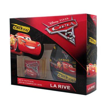 La Rive Disney Cars Zestaw (woda toaletowa 50 ml+ płyn do kąpieli i szampon 2w1 250 ml)