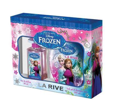 La Rive Disney Frozen zestaw woda perfumowana spray 50ml + szampon i żel pod prysznic 2w1 250ml