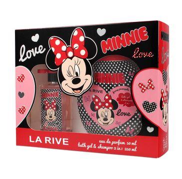 La Rive Disney Love Minnie Zestaw (woda perfumowana 50 ml + żel do kąpieli i szampon 2w1 250 ml)