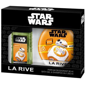 La Rive Disney Star Wars Droid Zestaw prezentowy dezodorant perfumowany 80 ml + żel do kąpieli  2w1 250 ml