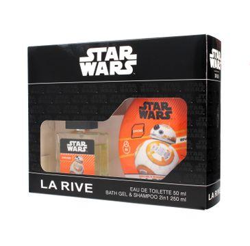 La Rive Disney Star Wars Droid zestaw woda toaletowa 50 ml + płyn do kąpieli i szampon 2w1 250 ml