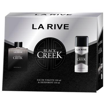 La Rive for Men Black Creek Zestaw prezentowy dezodorant spray 150ml+woda toaletowa 100ml (1 szt.)
