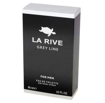 La Rive for Men Grey Line woda toaletowa męska 90 ml