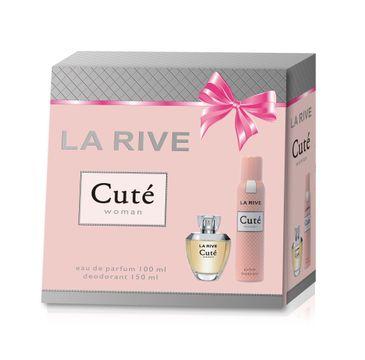 La Rive for Woman Cute zestaw woda perfumowana 100 ml + dezodorant 150 ml