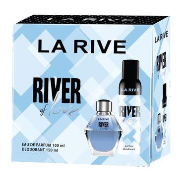 La Rive – Zestaw River of Love woda perfumowana 100ml+dezodorant 150ml (1 szt.)