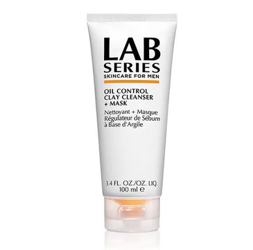 Lab Series Oil Control Clay Cleanser Mask For Men maseczka oczyszczająca do twarzy 100ml