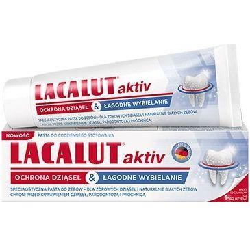 Lacalut – Active pasta do zębów ochrona dziąseł (75 ml)